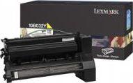 Laserové tonery - Lexmark 10B032Y yellow - originál