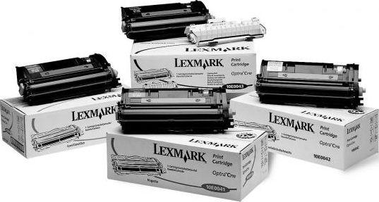 Laserové tonery - Lexmark 10E0040 cyan - originál