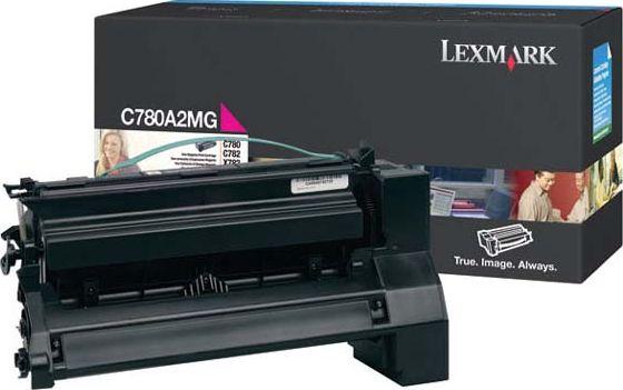 Laserové tonery - Lexmark C780A2MG magenta - originál