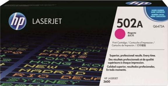 Laserové tonery - HP Q6473A magenta - originál