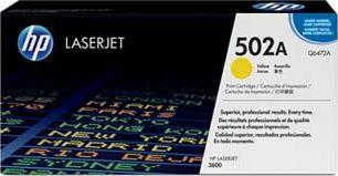 Laserové tonery - HP Q6472A yellow - originál