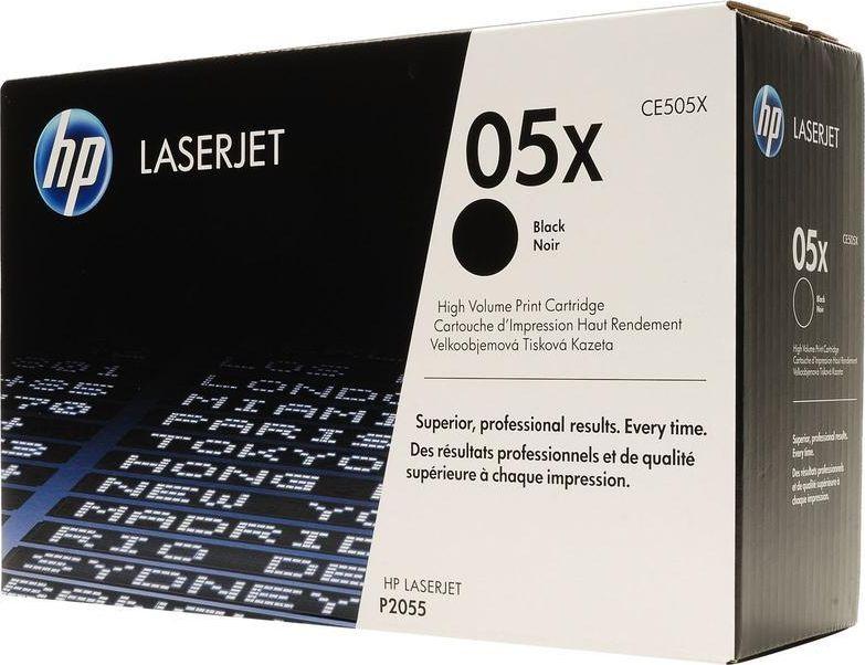 Laserové tonery - HP CE505X black - originál