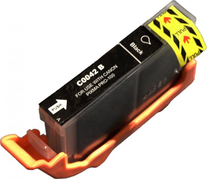 Atramentové kazety - Canon CLI-42BK black - kompatibilný