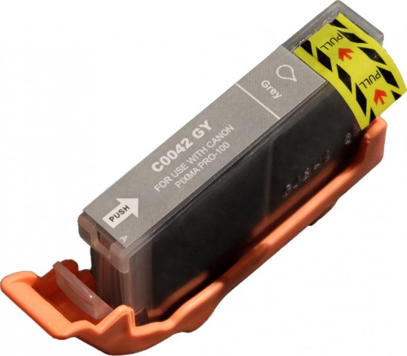 Atramentové kazety - Canon CLI-42G grey - kompatibilný