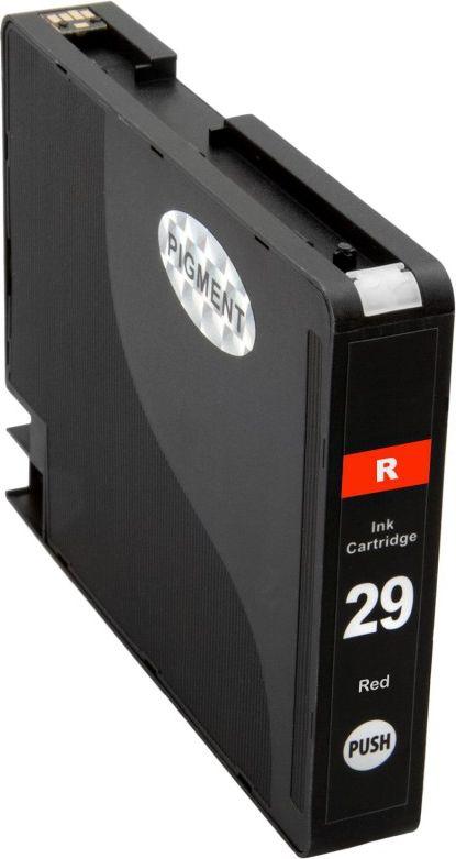 Atramentové kazety - Canon PGI-29 red - kompatibilný