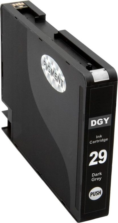 Atramentové kazety - Canon PGI-29 dark grey - kompatibilný