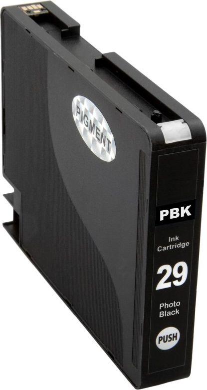 Atramentové kazety - Canon PGI-29 photo black - kompatibilný