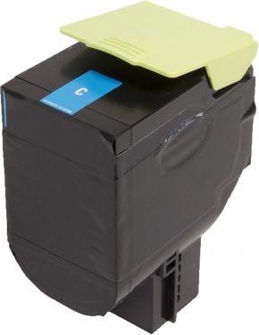 Laserové tonery - Lexmark 80C2SC0 (CX310, CX410, CX510) cyan - kompatibilný