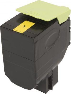 Laserové tonery - Lexmark 80C2SY0 (CX310, CX410, CX510) yellow - kompatibilný