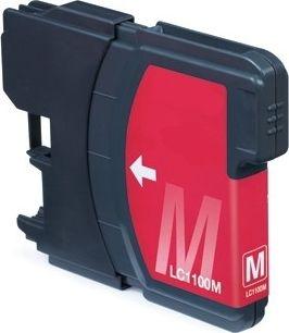 Atramentové kazety - Brother LC-1100 magenta - kompatibilný