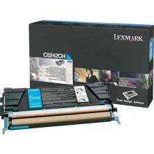Lexmark C5242CH cyan - originál