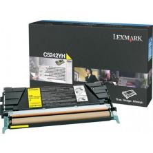 Lexmark C5242YH yellow - originál