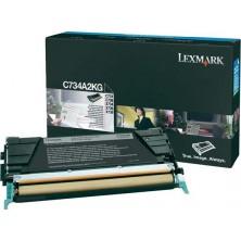 Lexmark C734A2KG black - originál