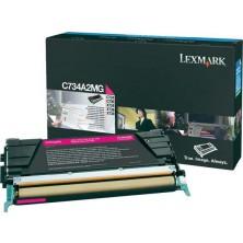 Lexmark C734A2MG magenta - originál