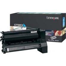 Lexmark C7722CX cyan - originál