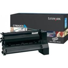 Lexmark C780A2CG cyan - originál