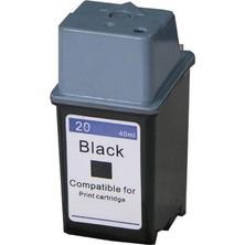 HP 20 (C6614A) black - kompatibilný