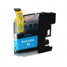 Brother LC-125XL cyan - kompatibilný