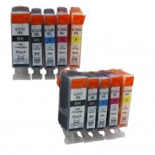 Canon PGI-525, CLI-526 Multipack, CMYK (10 kusov) - kompatibilný
