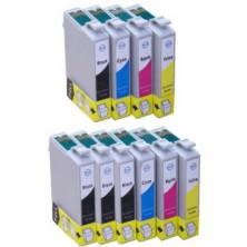 Epson T0615 Multipack, CMYK (10 kusov) - kompatibilný