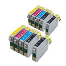 Epson T0715 Multipack, CMYK (10 kusov) - kompatibilný