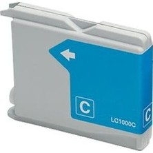 Brother LC-1000 cyan - kompatibilný