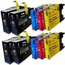 Brother LC-1280 Multipack, CMYK (10 kusov) - kompatibilný