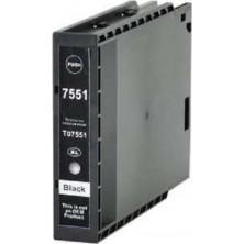 Epson T7551XL black - kompatibilný