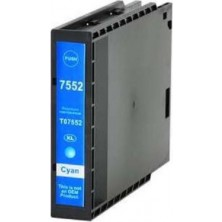 Epson T7552XL cyan - kompatibilný